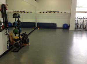 image of balance equipment in fitness centre